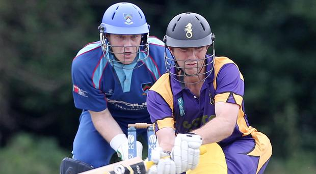 In-form: Andrew White is averaging 110 for Instonians