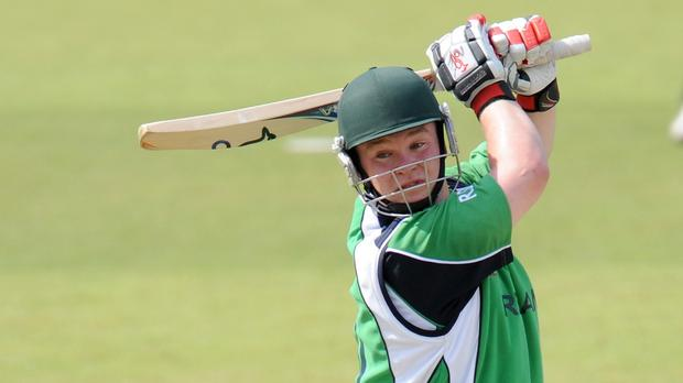 Paul Stirling starred with bat and ball as Ireland claimed a seven-wicket win