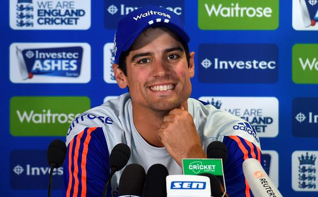 Ten years on: Alastair Cook hoping for repeat of 2005