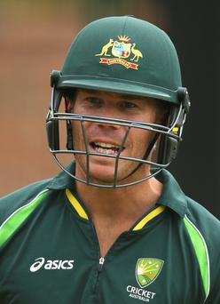 Top draw: David Warner is heading to Belfast