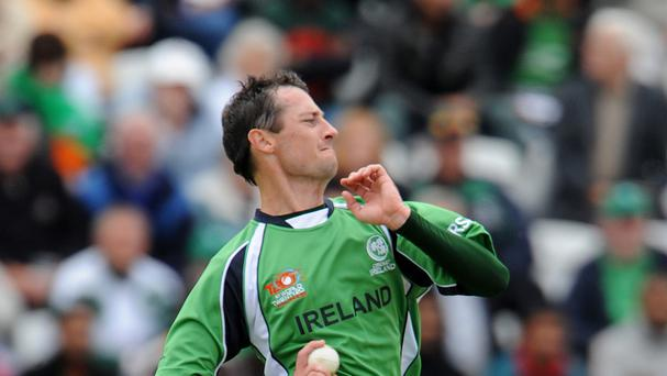 Veteran Ireland all-rounder Alex Cusack has retired