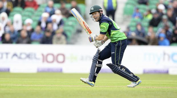 Ed Joyce made 53 for Ireland against Zimbabwe but it was to no avail