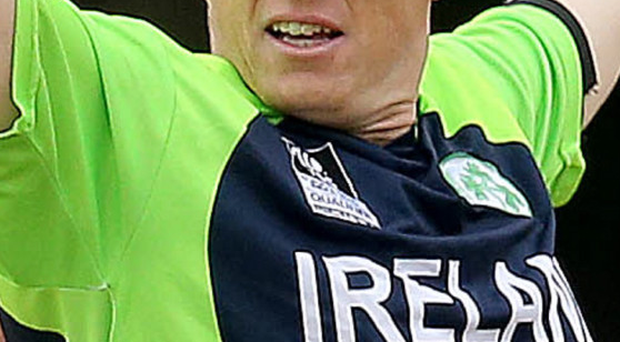 Kevin O'Brien helped Ireland on to a comfortable draw