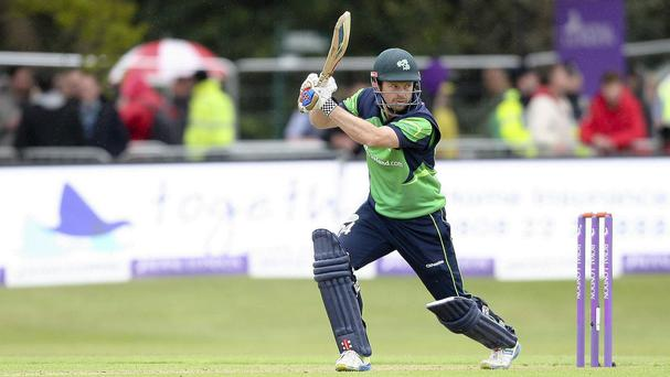 Ireland's Ed Joyce notched a second successive double century