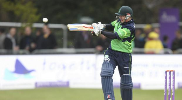 Niall O'Brien hit 63 for Ireland