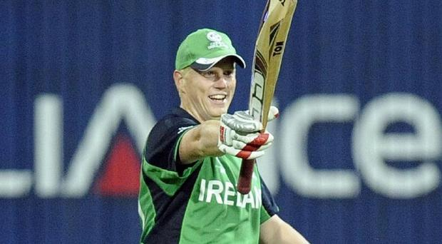 All-rounder Kevin O'Brien steered Ireland to victory against UAE