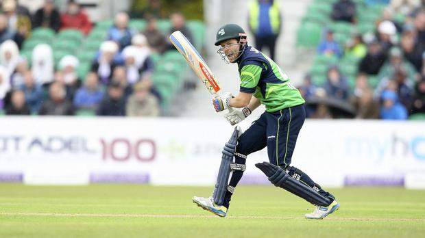 Ed Joyce hit 62 but Ireland could not see off Afghanistan in their one-day international at Stormont