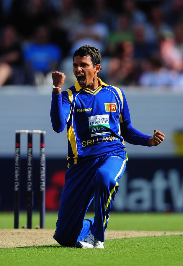Mission: Suraj Randiv is keen to show his class against Leinster Lightning