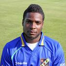 On song: Oraine Williams continued his good form with the bat, making 91