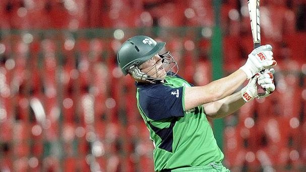 Ireland were beaten by Hong Kong despite the efforts of Kevin O'Brien