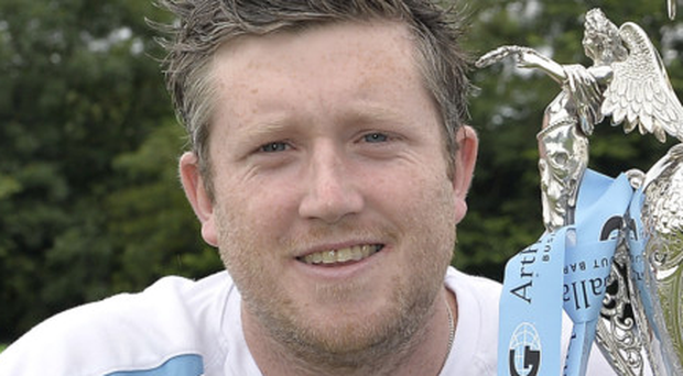 Andrew Cowden has led Civil Service North to a fourth place finish in the Ulster Bank Premier League