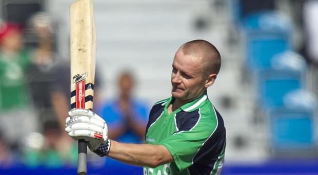 William Porterfield followed Thursday's hundred with a fifty on Saturday