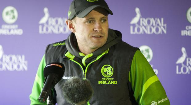 Ireland captain William Porterfield was unable to help his side avoid defeat at Greater Noida
