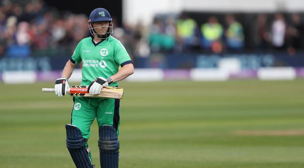 Niall O'Brien was fit to help Ireland take on England at Lord's