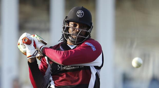 Chris Gayle's ODI return must wait until West Indies move on to England following their Belfast washout