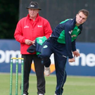 In form: Andy McBrine starred for Ireland Wolves
