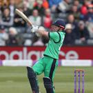 Ed Joyce helped Ireland to victory in Dubai