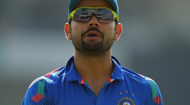 Virat Kohli has been reprimanded by the ICC