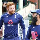 Jonny Bairstow brushed aside questions about Australia's post-Ashes celebrations (Jason O'Brien/PA)