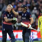 Jos Buttler (right) has promised to support Ben Stokes on his return to England colours