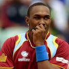 Dwayne Bravo was the unlucky man to be dismissed