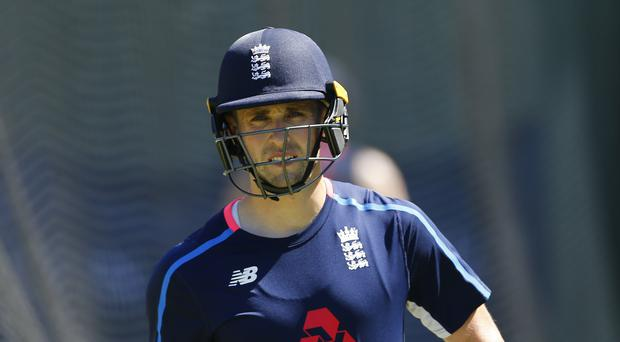 England's Chris Woakes outshone the top order after a collapse in Adelaide (Jason O'Brien/PA)
