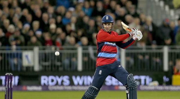 Alex Hales suffered disappointment in the IPL auction
