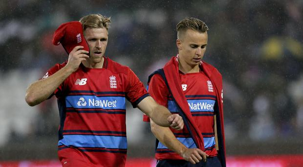 England's David Willey starred with bat and ball in Canberra