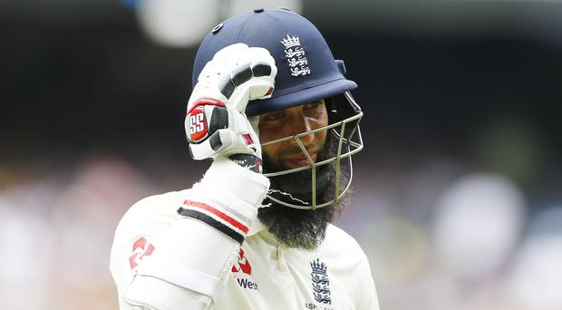 Moeen Ali had a disappointing Ashes (Jason O'Brien/PA)