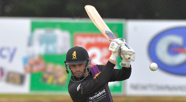 Waiting game: James Shannon is the spare batsman on tour