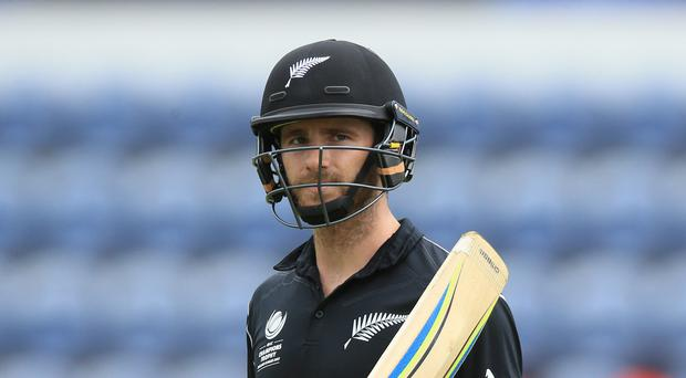 Kane Williamson got a century for New Zealand
