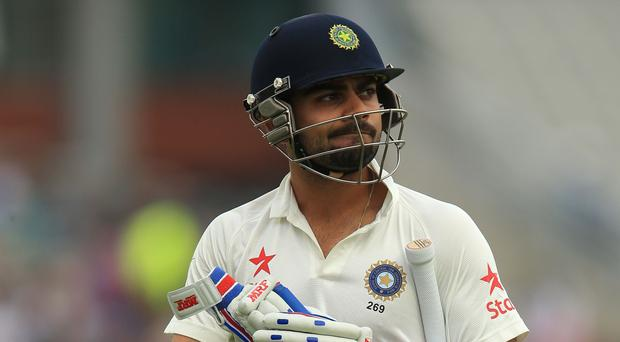 Virat Kohli struggled during India's last tour of England (Mike Egerton/PA)