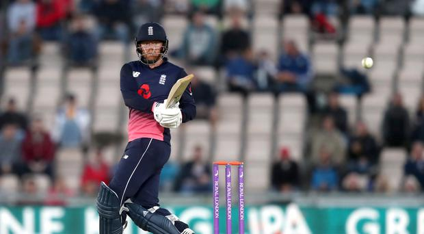 England's Jonny Bairstow struck 104 as they saw off New Zealand (Simon Cooper/PA)