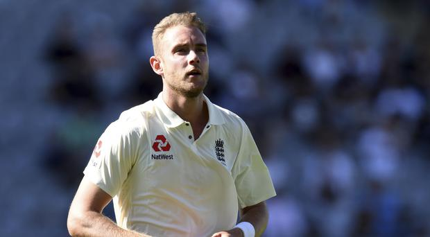 Stuart Broad has taken his 400th Test wicket