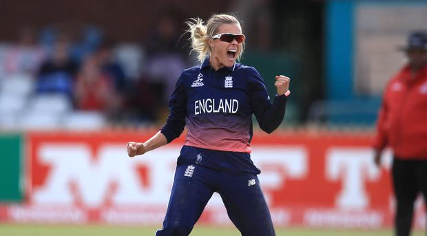 England Women v New Zealand Women – ICC Women's World Cup – The County Ground