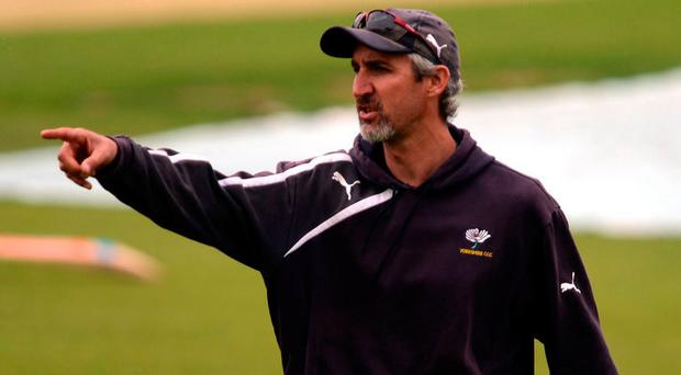 Demand: Jason Gillespie called for Smith to lose captaincy
