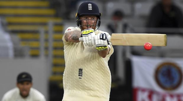 Ben Stokes struck 66 at Eden Park