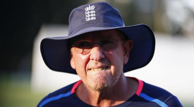 England's Trevor Bayliss said he is embarrassed by Australia's ball tampering (Jason O'Brien/PA)