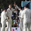 Stuart Broad took for wickets as New Zealand reached stumps 192 for six