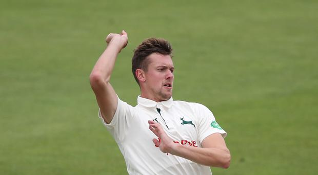 Jake Ball's nine wickets in the match helped Nottinghamshire to victory over Lancashire (Nick Potts/PA)