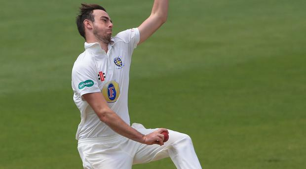 James Weighell was the star of the day's County Championship action