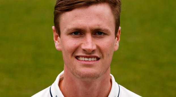 Middlesex's Nick Gubbins push his England claims with 99 against Gloucestershire (John Walton/PA)