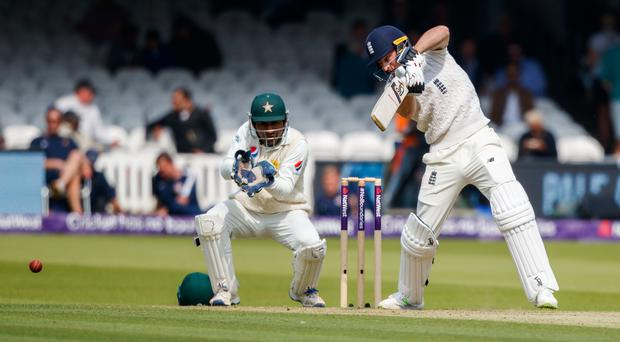 Jos Buttler made 14 on his return to the Test arena