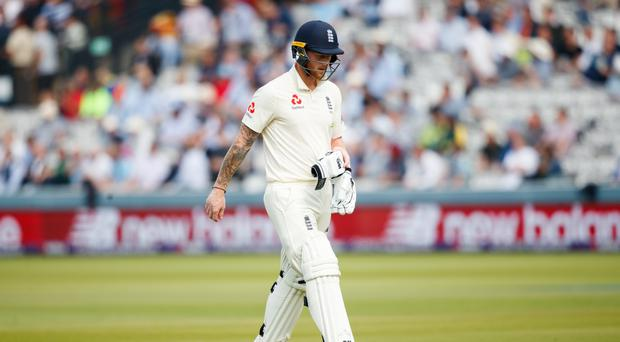 Ben Stokes was England's second highest scorer