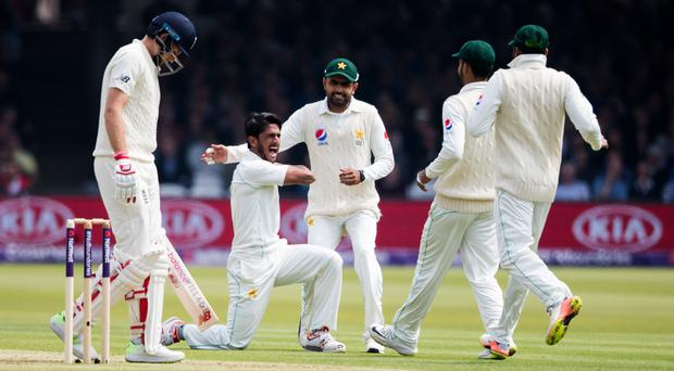 Pakistan are on top at Lord's