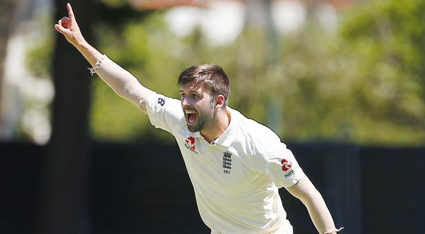 Mark Wood took the final wicket