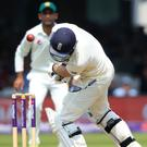Dawid Malan battled for 50 balls but could only make 12
