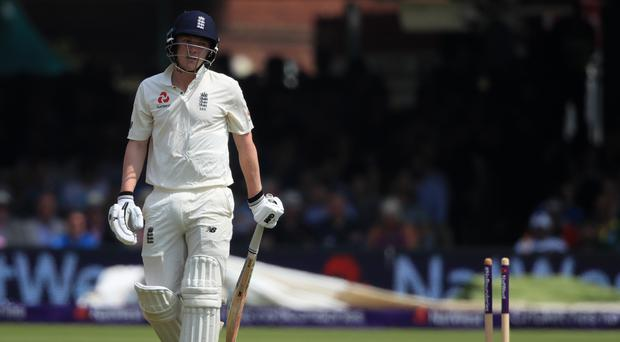 The wicket of Dom Bess concluded a sorry England collapse