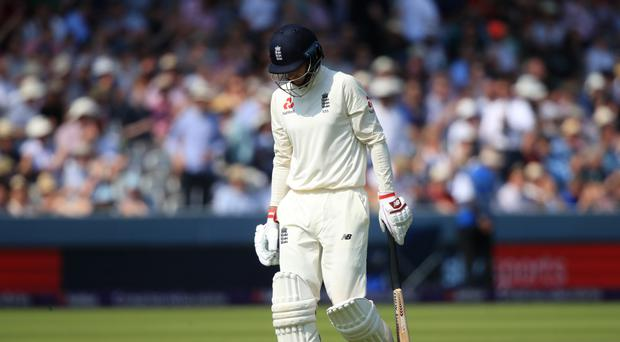 Joe Root was despondent after England's defeat