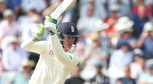 Keaton Jennings made 29 on his England return (Martin Rickett/PA)